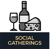 Social Gatherings button